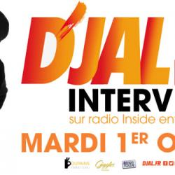 INTERVIEW D'JAL 'A coeur ouvert' au Set &agrave Tarbes samedi 12 Octobre 2019 !