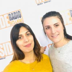 INTERVIEW de Laeticia et Camille, du salon Hair Design &agrave Lescar, dans les studios de Radio Ins