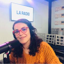 INTERVIEW de Sophie Feugas, de l'Espace James Chambaud &agrave Lons, dans les studios de Radio Insid