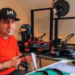 Interview de Vincent Tomasetig, de la Team Maker Covid Bearn, sur Radio Inside